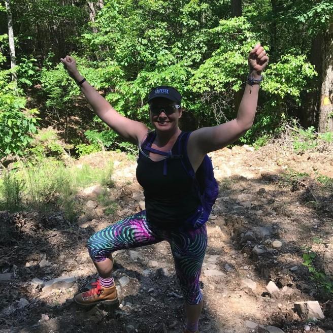 journeymonkeys#kastinaction #optoutside #forceofnature #outdoorwomen #outdooradventures #outdoorfun #femaletriathlete #ctsathlete #hikingadventures #hiking #dannerboots Iron Mountain Recreation Area Old De roche.jpeg
